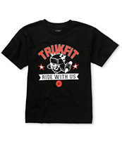 Trukfit Boys Ride With Us Black Tee Shirt