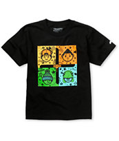 Trukfit Boys Connect Four Black Tee Shirt