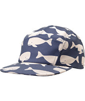 Chuck Originals Whale Camper Navy 5 Panel Hat