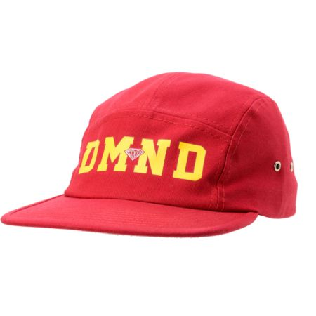 Diamond Supply DMND Red 5 Panel Hat