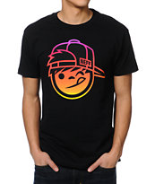 Neff Gradient Black Tee Shirt