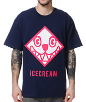 ICECREAM Head First Navy Tee Shirt