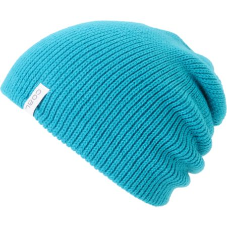 Coal Girls Frena Turquoise Knit Beanie