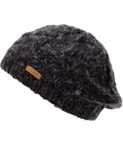 Coal Girls Addie Black Knit Beanie