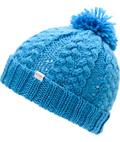 Coal Girls Karolyn Blue Pom Beanie