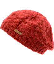 Coal Girls Addie Dark Red Beanie