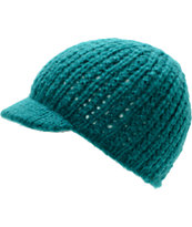 Coal Girls Mina Jade Green Visor Beanie