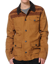 Volcom Grazer Hazel Brown Work Jacket