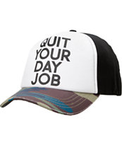 Vans Element Marin Quit Your Day Job Snapback Hat