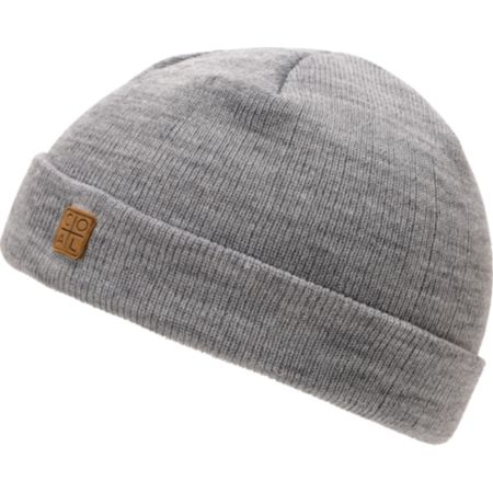 Coal Harbor Heather Grey Fold Beanie