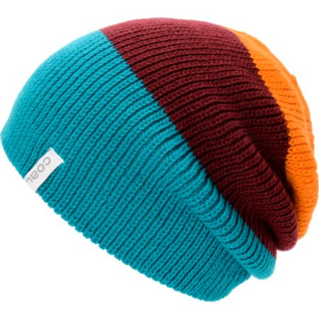 Coal Frena Sandstone Blue, Magenta & Orange Beanie