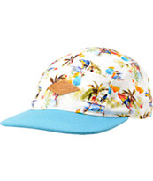 Empyre Paradise Printed 5 Panel Hat