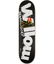 Almost Willow Berlin Bear 8.1 Double Impact Skateboard Deck