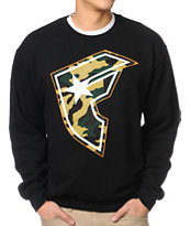 Famous Stars & Straps Hunter Black Crewneck Sweatshirt