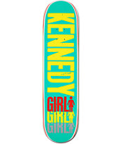 Girl Kennedy Triple 7.75 Skateboard Deck