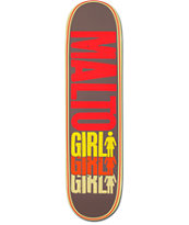 Girl Malto Triple 8.125 Skateboard Deck