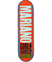 Girl Mariano Triple 8.12 Skateboard Deck