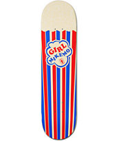 Girl Mike Mo Popcorn 8.0 Skateboard Deck