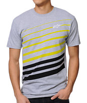 Alpinestars Cinderblock Grey Tee Shirt
