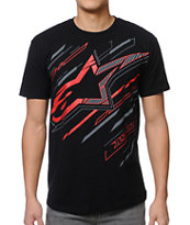 Alpinestars Gazer Black Tee Shirt