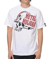 Metal Mulisha Track White Tee Shirt