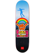 Chocolate Anderson Hang Loose 8.125 Skateboard Deck
