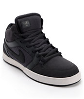 Nike SB Mogan Mid 3 Lunarlon Anthracite, Black, & Grey Shoe