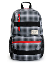Empyre Transfer Plaid Black Backpack