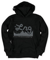 LRG Boys Mountain Range Black Pullover Hoodie