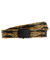Empyre Changeable Orange & Camo Reversible Web Belt