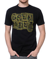 Grenade Camo Block Black Tee Shirt