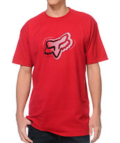 Fox Specialist Red Tee Shirt
