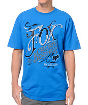 Fox Tavern Blue Tee Shirt