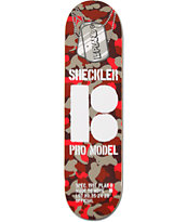 Plan B Sheckler Camo 8.25 Skateboard Deck
