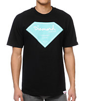 Diamond Supply Certified Lifer Black Tee Shirt