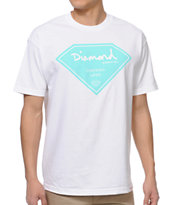 Diamond Supply Certified Lifer White Tee Shirt