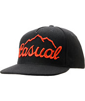 Casual Industrees Tap The Mountain Black Snapback Hat