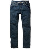 Matix Gripper Sulfur Blue Skinny Jeans