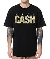 Neff Cash Black Tee Shirt
