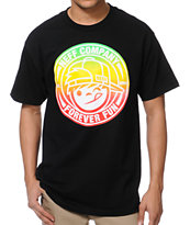 Neff Lockenni Black Tee Shirt