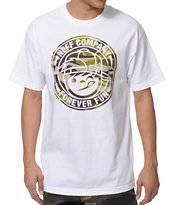 Neff Lockenni White Tee Shirt