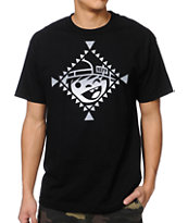 Neff Indienni Black Tee Shirt