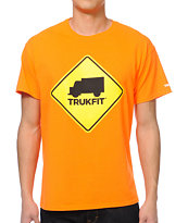 Trukfit Truk Stop Orange Tee Shirt