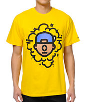 Trukfit Tommy Pop Yellow Tee Shirt