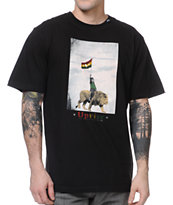 LRG Son Of The Lion Black Tee Shirt