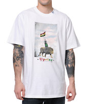 LRG Son Of The Lion White Tee Shirt