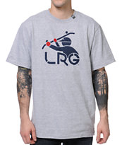 LRG South Sider Heather Grey Tee Shirt