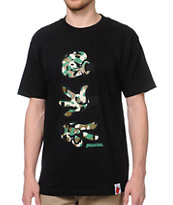 Booger Kids Rock, Paper, Cut Black & Camo Tee Shirt