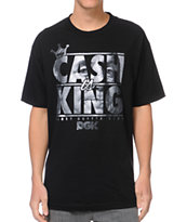 DGK Cash Is King Black Tee Shirt
