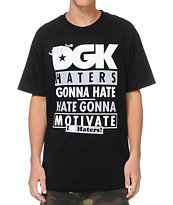 DGK Gonna Motivate Black Tee Shirt